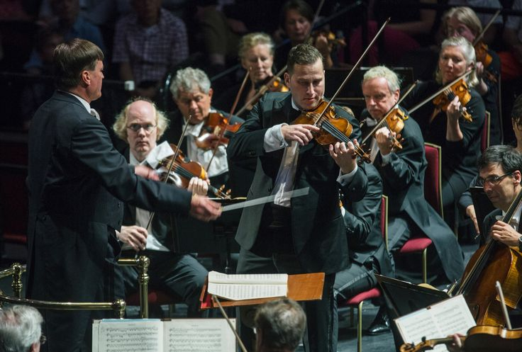 Prom 72: // Beethoven: Violin Concerto in D Reger: Variations and Fugue on a Theme by Mozart Strauss: Till Eulenspiegels lustige Streiche  Nikolaj Znaider (violin) Staatskapelle Dresden  Christian Thielemann (conductor)