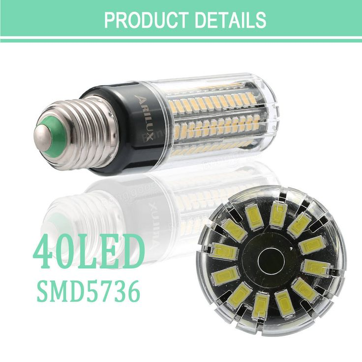 ARILUX® E27 E14 B22 5W 7W 9W 12W 15W 18W No Flicker Constant Current LED Corn Light Bulb AC85-265V