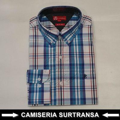 Camisa Cuadros Surtransa 1127