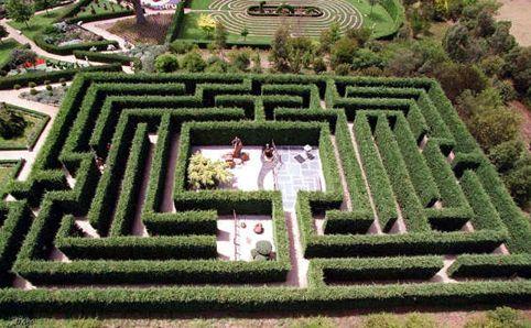 Enchanted Maze Garden - Arthurs Seat