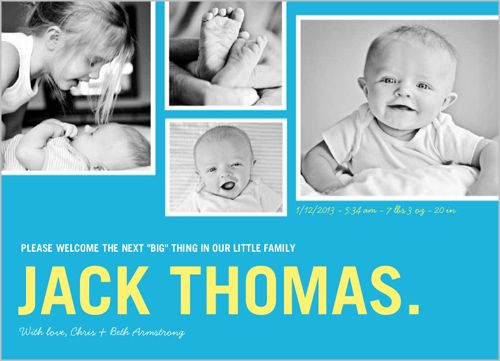 47 best Birth Announcements images – When to Send Baby Announcements
