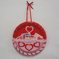 Valentine Pocket - Paper Plate