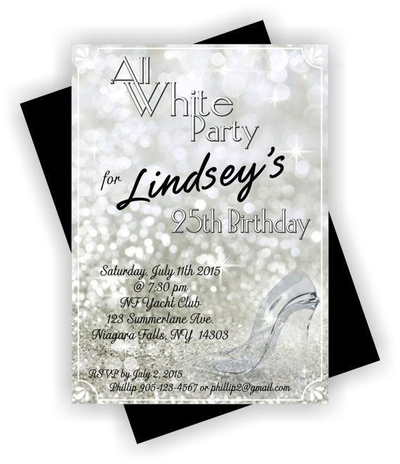 DIY PRINTABLE Personalized Birthday Invitation by TAGSRUSCANADA