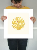 you are my sunshine: Wall Art, Idea, Art Inspiration, Art Prints, Criss Crosses, Mint Com, Graphics, Annie Clarks, As Art