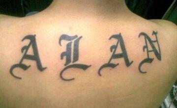 tatuajes de letras goticas mayuscula