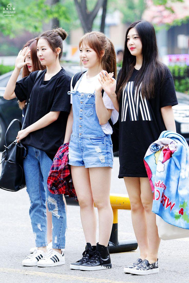 Red Velvet Seulgi, Wendy & Joy Kpop Fashion 150508 2015