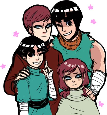 Naruto - Gaara no Suna x Rock Lee - GaaLee | I'm the ... Gaara And Lee