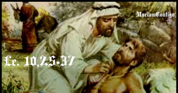 ¿Y QUIÉN ES MI PRÓJIMO? Señor Jesús, haz que tu Espíritu ilumine mis acciones y me comunique la fuerza para seguir lo que tu Palabra me revela.   Jesús, te pido que me ayudes a vivir mi vida pensando en los demás, pensando en el prójimo. Tú que vives y reinas con el   Padre en la unidad del Espíritu Santo por los siglos de los siglos. Amén. Lc. 10,25-37 OÍR SANTORAL DE HOY: SANTA VERÓNICA GULIANI http://mariamcontigo.blogspot.com/2016/07/nuestra-fragilidad-es-fuente-de-un-gran.html