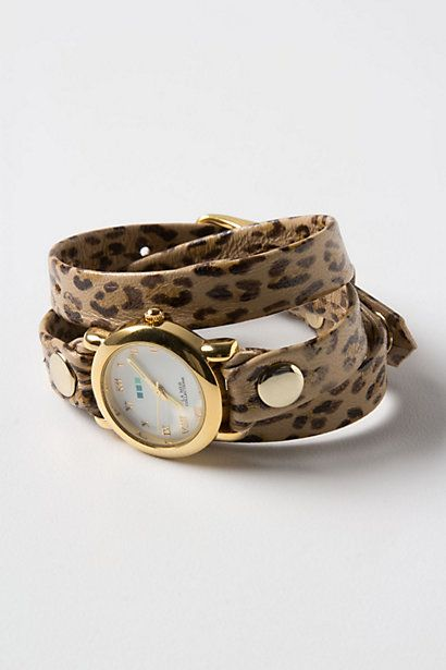 if i wore watches this is what it would look like    Safari Wrap Watch - Anthropologie.com