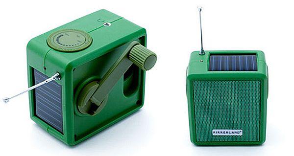 Solar panel radio  www.whitefence.com