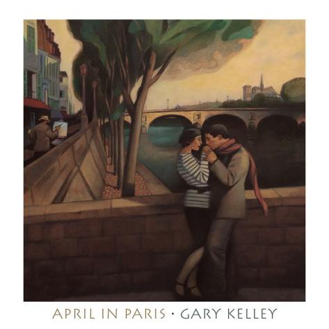 April in Paris by Gary Kelley