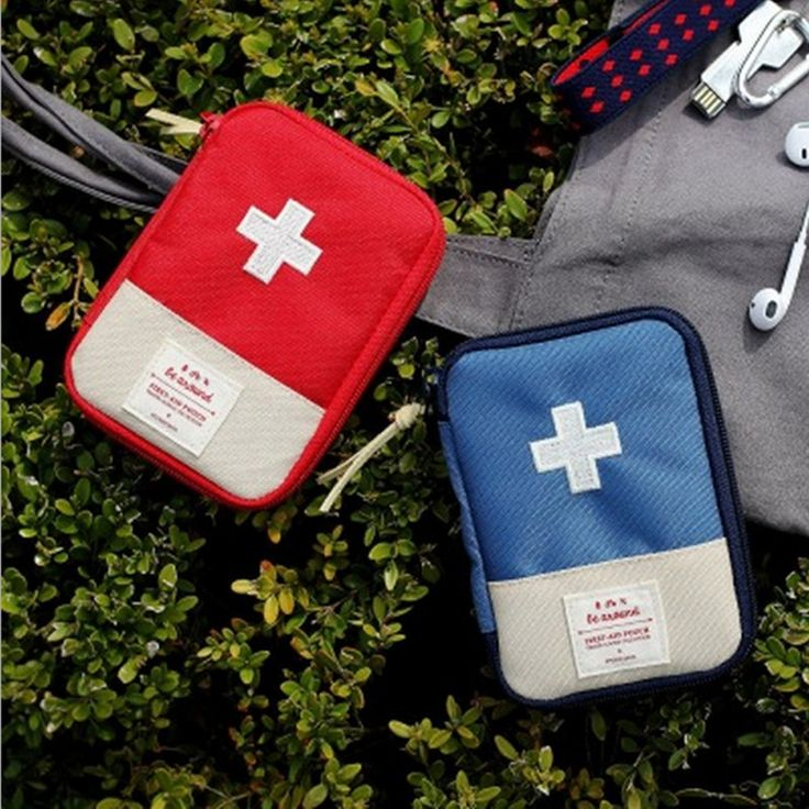 New Arrival,Portable mini Travel medicine storage bag home first aid kit treatment pack camping survival bag,Best Price #Affiliate
