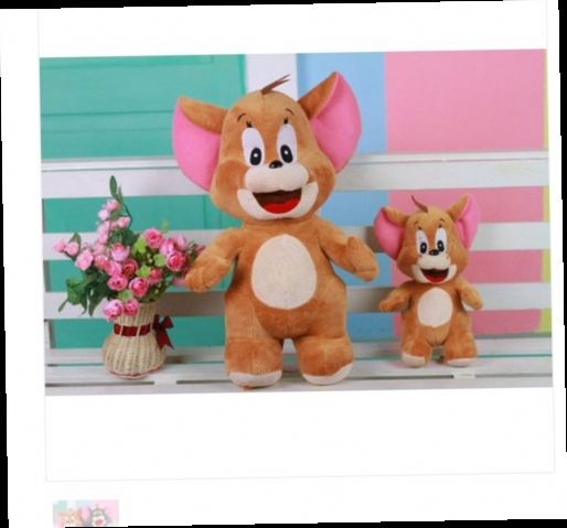 41.00$  Buy now - http://aliscc.worldwells.pw/go.php?t=1830252327 - Movies & TV plush 50cm Jerry mouse plush toy about 19 inch doll birthday gift s7597 41.00$