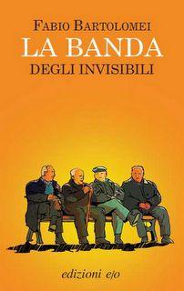 """""""La banda degli invisibili"""" - Fabio Bartolomei. Semplicemente delizioso. Delicato e divertente, malinconico e canzonatorio, sorprendente e realistico: da leggere a piccole dosi, quotidianamente, non perché sia difficile o pesante, ma per goderne a fondo ogni riga. Poi da rileggere ancora, per memorizzare tanti, dolcissimi e strepitosi passaggi. """"La banda degli invisibili"""" è come una scorribanda tra i guai, i pensieri e i desideri di un gruppo di anziani """"soli"""", che si barcamenano tra…"""