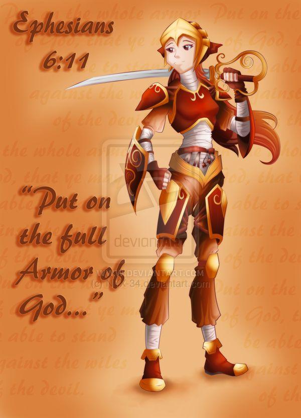 Armor of God Artwork | Put On The Full Armor Of God By NYX 34