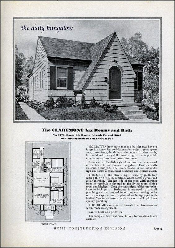 Best Vintage Home Plans Images On Pinterest Vintage Houses