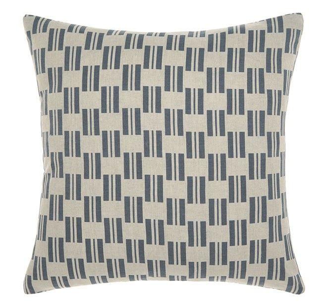 Manon 43x43cm Filled Cushion Indigo | Manchester Warehouse