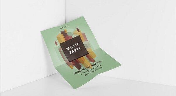 Download 22 Best Folded Paper Mockups Free Psd Mockup Free Psd Free Psd Design Paper Mockup