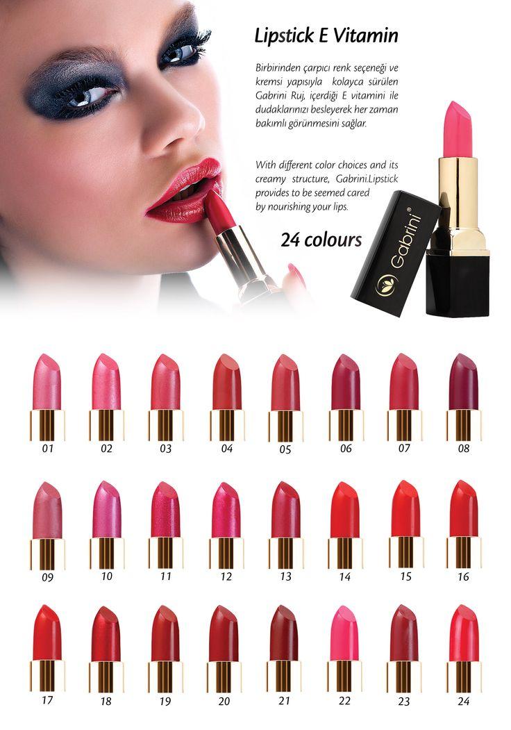 gabrini lipstik vitamin E