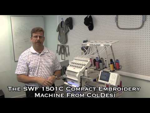 SWF Embroidery Machine Demonstrations (playlist)