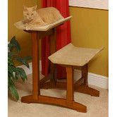 Found it at Wayfair - Craftsman Series Double Seat Wooden Cat Perch