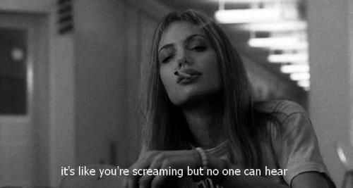angelina + this quote Girl Interrupted