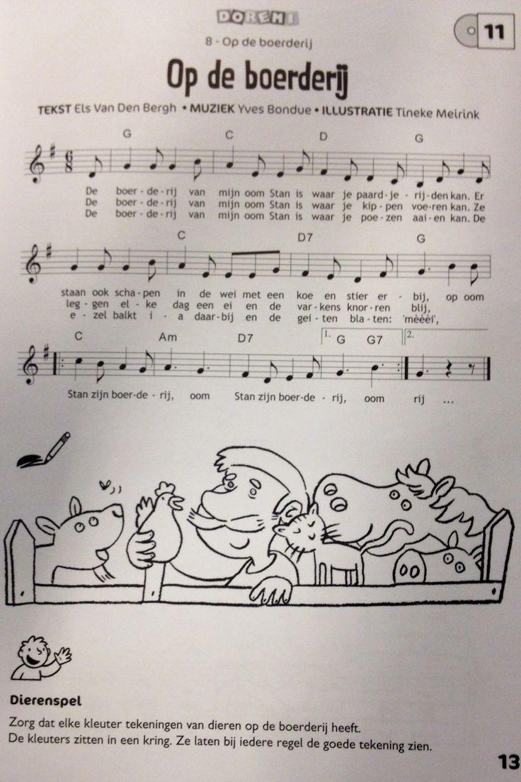 Liedje Op de Boerderij