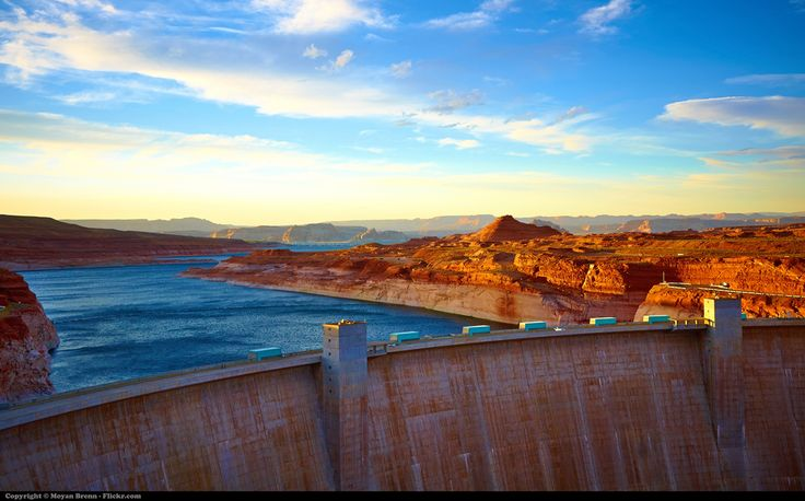 "https://flic.kr/p/a4VV3k | Lake powell | A view of the Glen canyon Dam of lake Powell on the Colorado river, Arizona     -- FREE IMAGE  --  HOW TO USE IT --       How to use my images for free in 4 steps:  1)   Read and respect the ""Copyrights Rules & Conditions"" below; 2)   Check my gallery. Maybe you can find more useful free images for your works. Here is the link: Moyan Brenn Official Gallery   3)  Now you can use my images. No need to write me. 4)  You know, If you buy an ..."