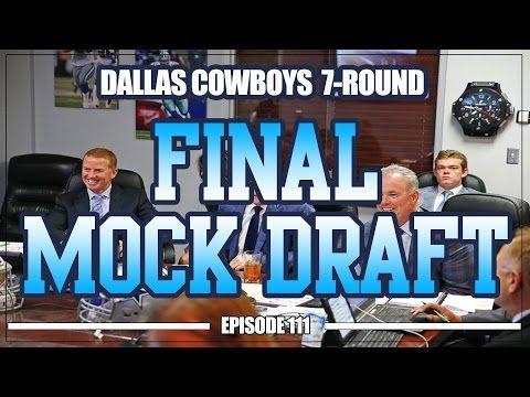 Dallas Cowboys 7-Round Final Mock Draft | Cowboys Blog
