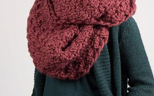 tutoriel diy tricoter une charpe tube au point de bl 2 2 via diy tricot. Black Bedroom Furniture Sets. Home Design Ideas