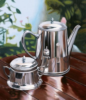 Imfpa Tea Time Painting Contemporary Wall Art on Shimply.com