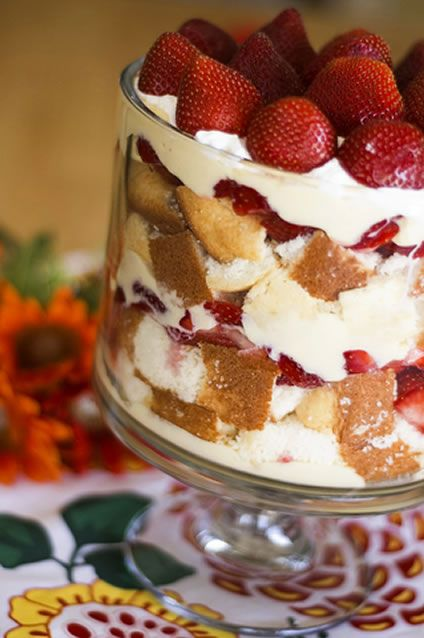 This delicious basic strawberry trifle recipe only takes about ten minutes to make. You can use fresh blueberries or peaches instead of the strawberries if you want to. Angel food cake can be used instead of the pound cake. If you are looking for a simple recipe for a dessert for the family, you will enjoy this basic strawberry trifle recipe because there is not anything complicated about it and even beginner cooks can make it. It is easy to use a readymade cake, rather than make your own…