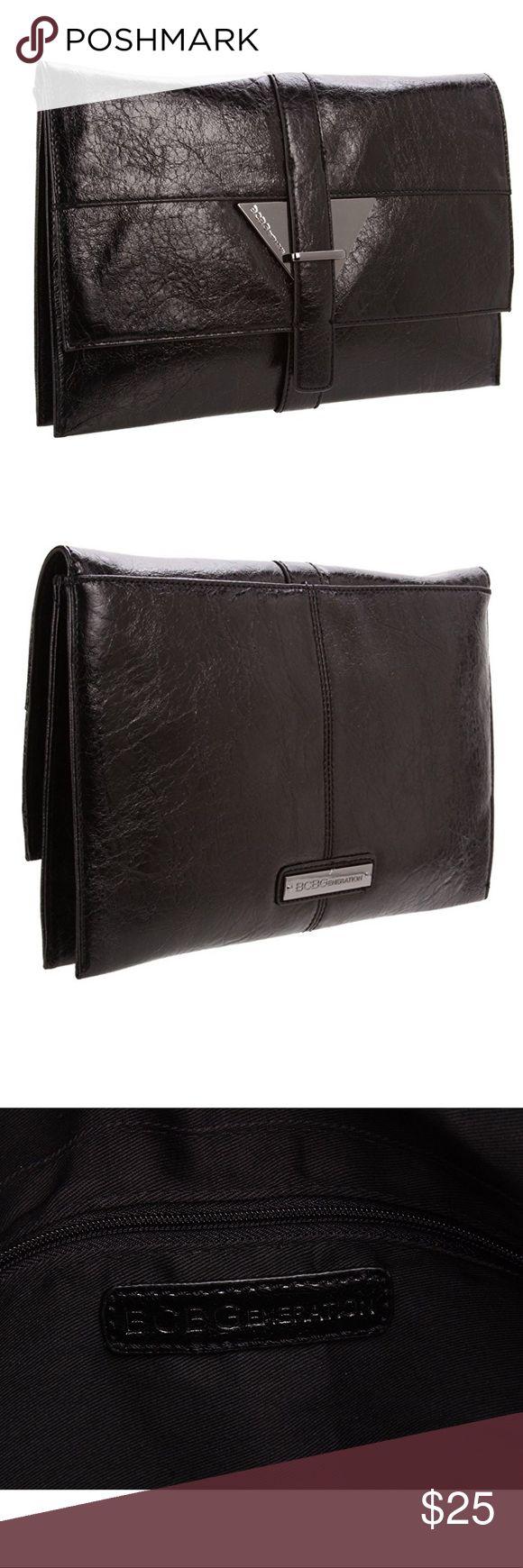 Selling this New BCBGeneration Julia Clutch Black on Poshmark! My username is: bgthrifter. #shopmycloset #poshmark #fashion #shopping #style #forsale #BCBGeneration #Handbags