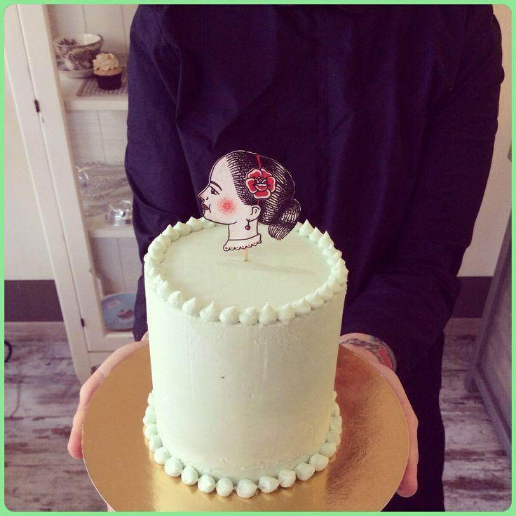 Birthday cake for Viola.
