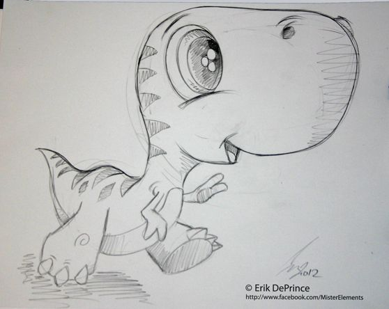 cute dinosaur drawing - Google Search
