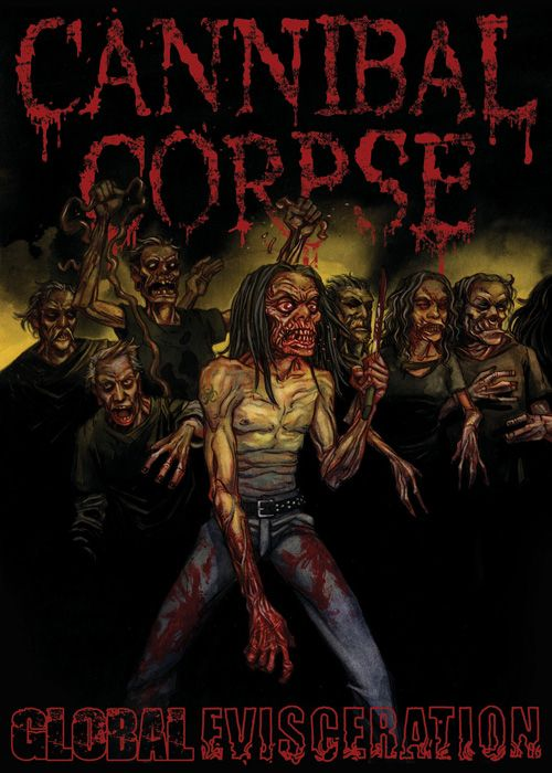 CANNIBAL CORPSE - Global Evisceration - DVD - 2011
