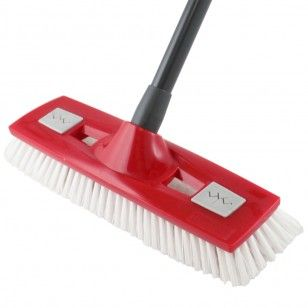 2 in 1 Master Brush can scrub intensively or gently when used with a cloth.