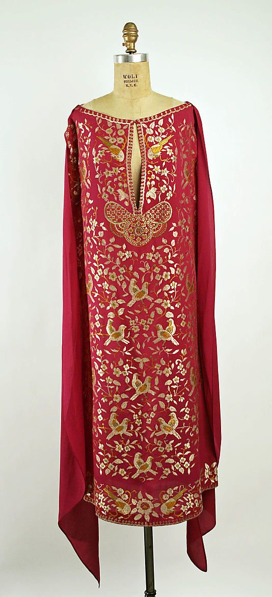 Evening Ensemble 1925, French, Made of silk