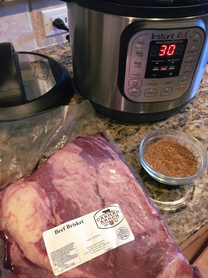 Smoky Instant Pot Beef Brisket | Paleo, Gluten Free, Low Carb by Strive to Thrive Nutrition