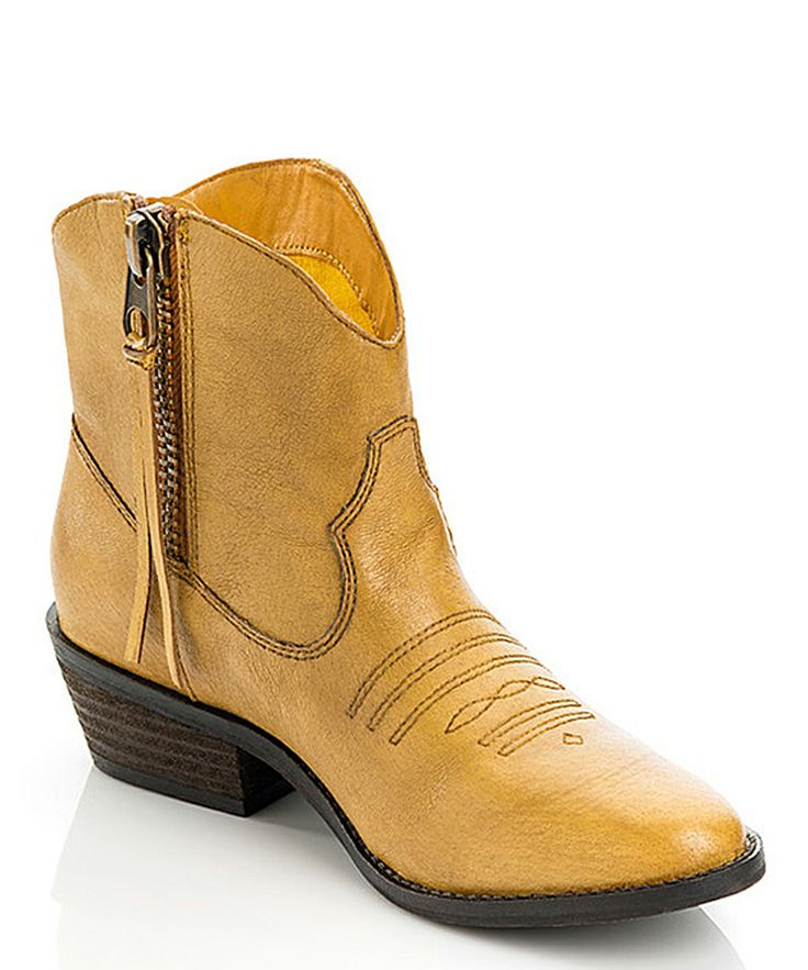 Yellow Stevie Boot...sexy! NOT!!!!