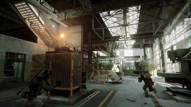 Battlefield 3 Close Quarters Metal map #ea #gaming