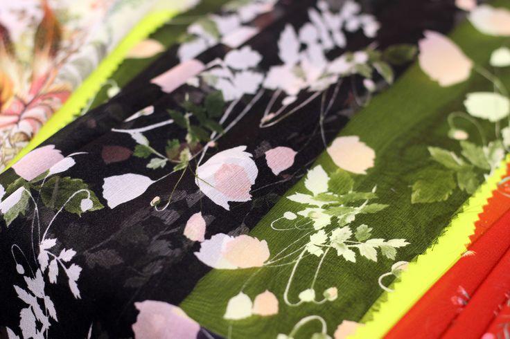 Première Vision Spring Summer 18 Fair Report___DELICATE BOUQUETS TREND___Liberty Fabrics