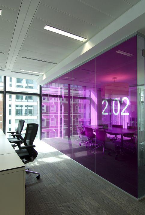 Mansfield Monk contemporary interior office Design in Fleet Place London  design office