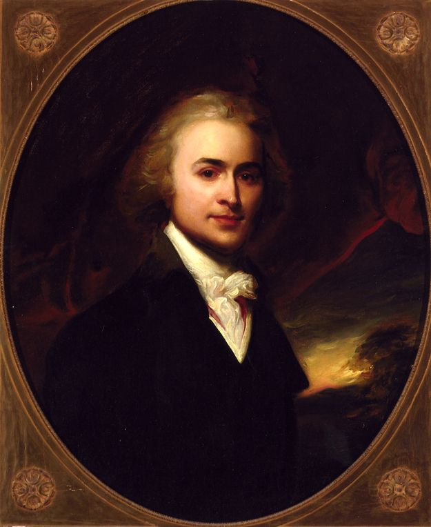 A young John Quincy Adams. Diplomat, Secretary of State, Congressman and 6th President of the United States.