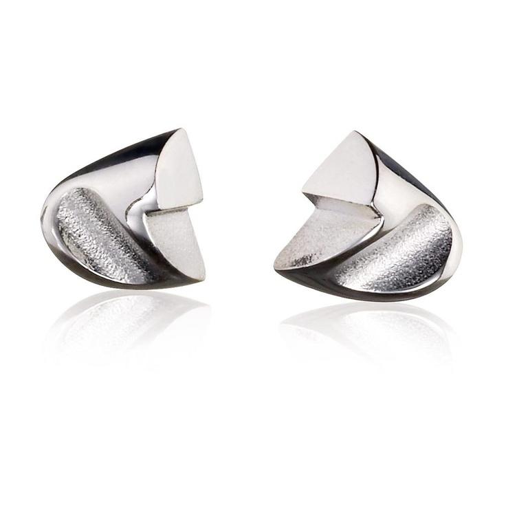 ETNA  Design Zoltan Popovits / Silver Earrings / Lapponia Jewelry / Handmade in Helsinki