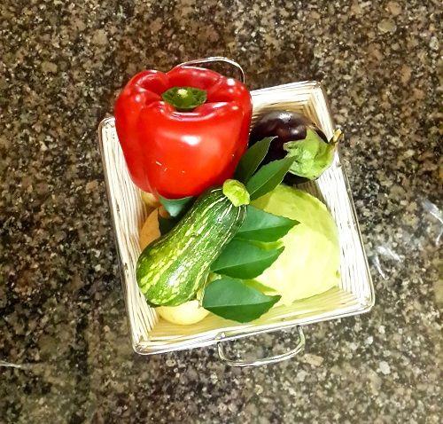 Vegetable basket gift #Giftidea