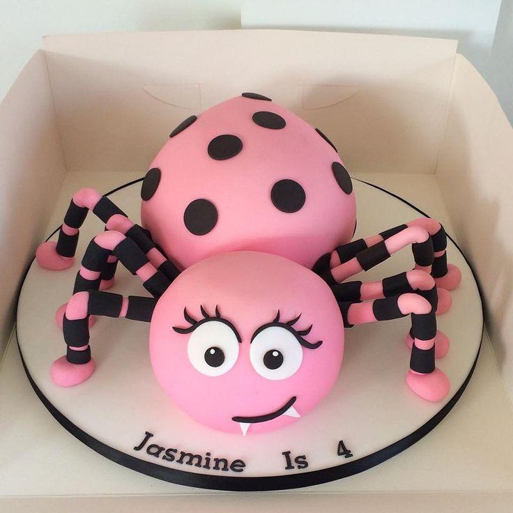spider sphere cake