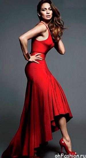Лопес в вечернем платье