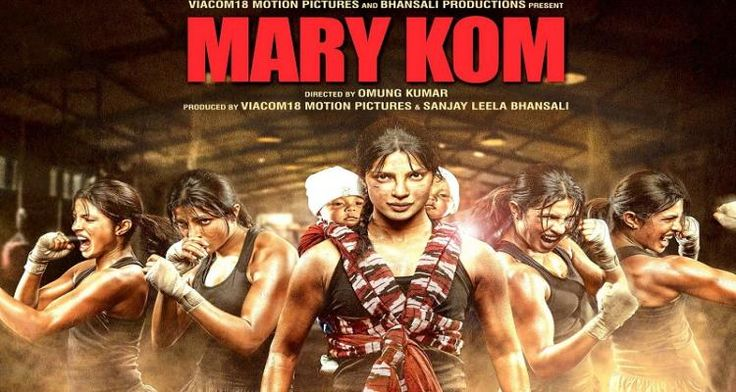 About This Movie :  A simple girl from Manipur named Mary Kom harbors the dream of being a successful boxer and represent her country in the world championship. But her dreams come at a price, as she is faced with social prejudice and financial woes. Watch as Mary Kom works hard with her coach, Duration : 2hrs 00  Released : Sep 5, 2014 Genre : Biography, Drama, Sports  Starcast : Priyanka Chopra