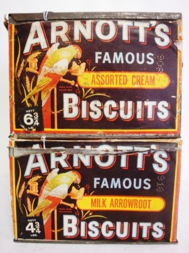 Arnott's Biscuits factory Homebush NSW - I could smell the biscuits baking on the way to school.